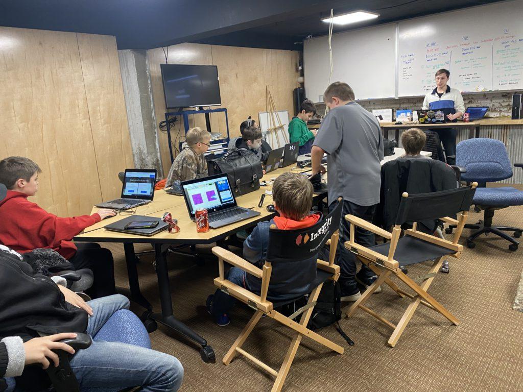 Teaching kids tech